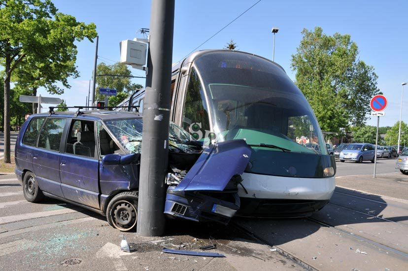 accident de tramway