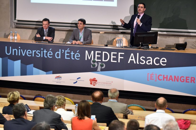 Université d'été du MEDEF Alsace 2016, Herbert Castéran