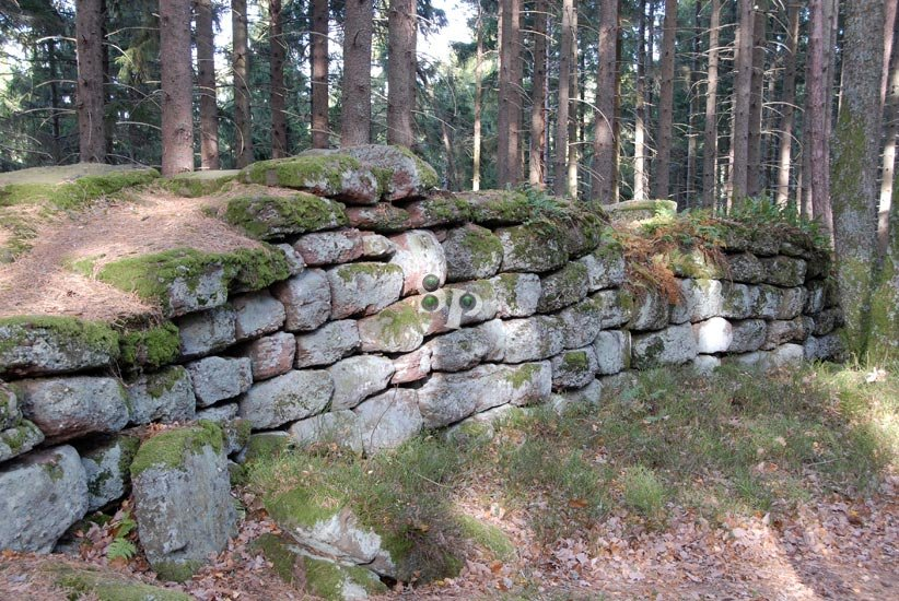murs paiens