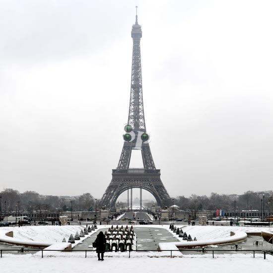 Tour Eiffel vue du Trocadéro