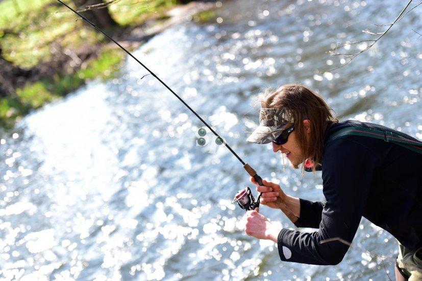 Pêche à la truite sur la Bruche