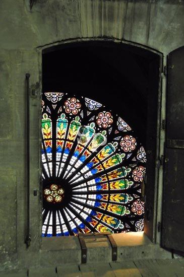 La rosace de la Cathédrale de Strasbourg