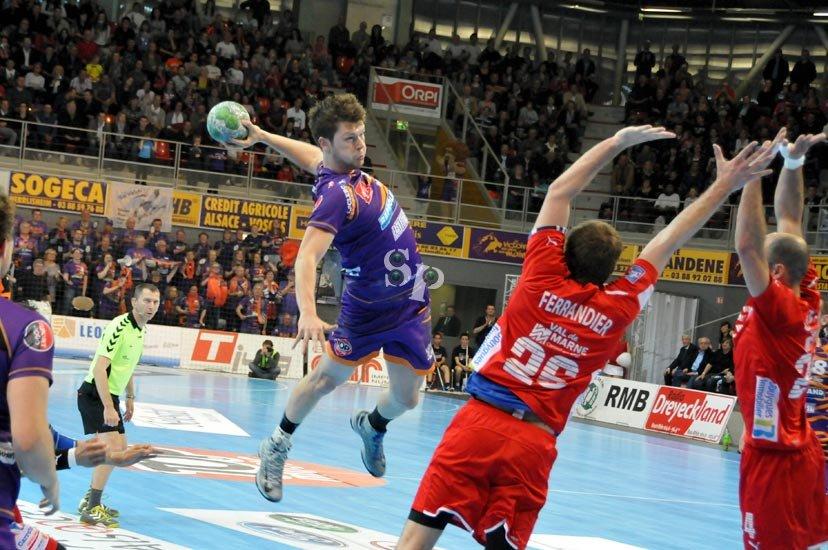 Sélestat Alsace Handball Quentin Eymannn