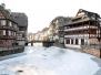 Strasbourg sous la glace