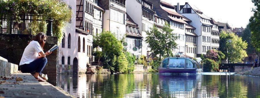 Strasbourg au soleil de septembre