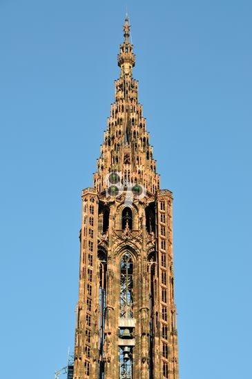 flèche de la cathédrale
