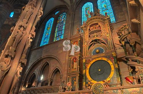 horloge astronomique cathédrale strasbourg