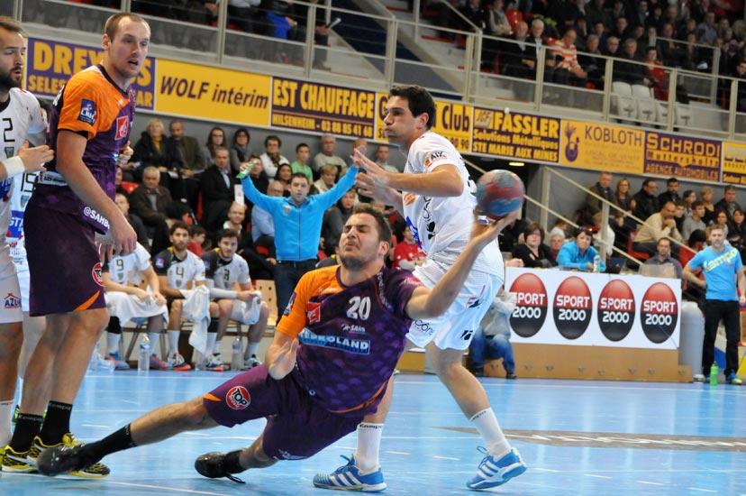 Reportage Handball : Jordan François-Marie