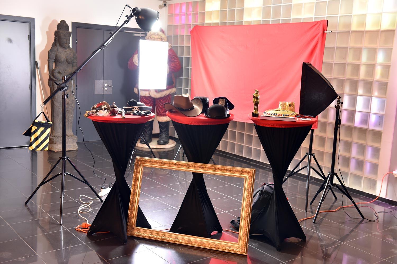 Photo booth pour événement d'entreprise
