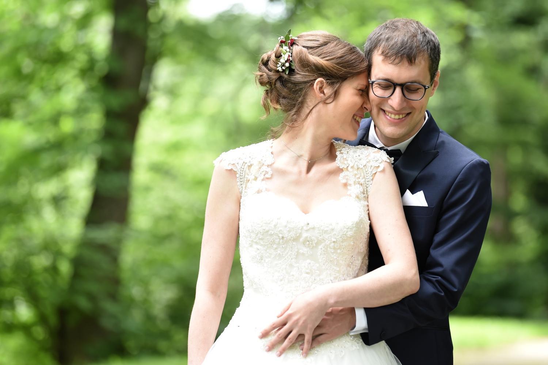 Photos de mariage à l'Ermitage du Rebberg