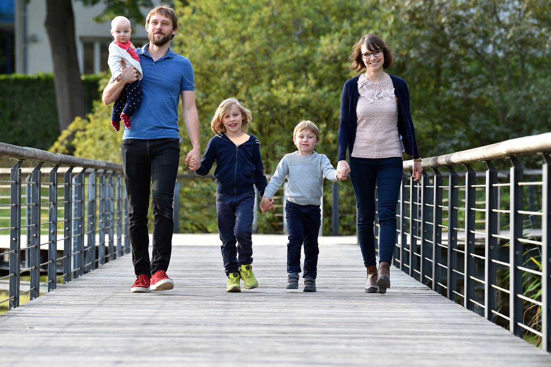 Séance photo de famille à Kehl
