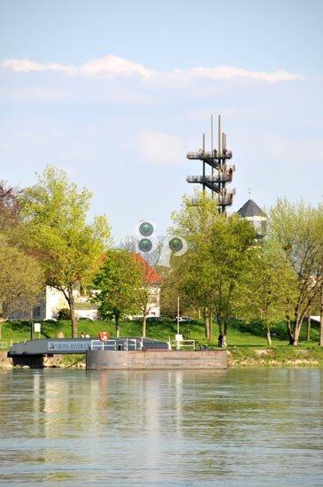 Strasbourg : le jardin des deux rives au printemps ...