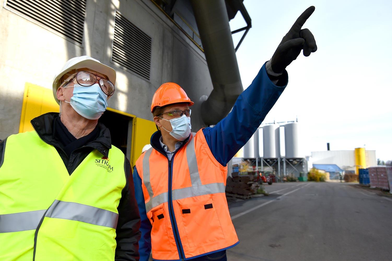 photos de travaux industriels