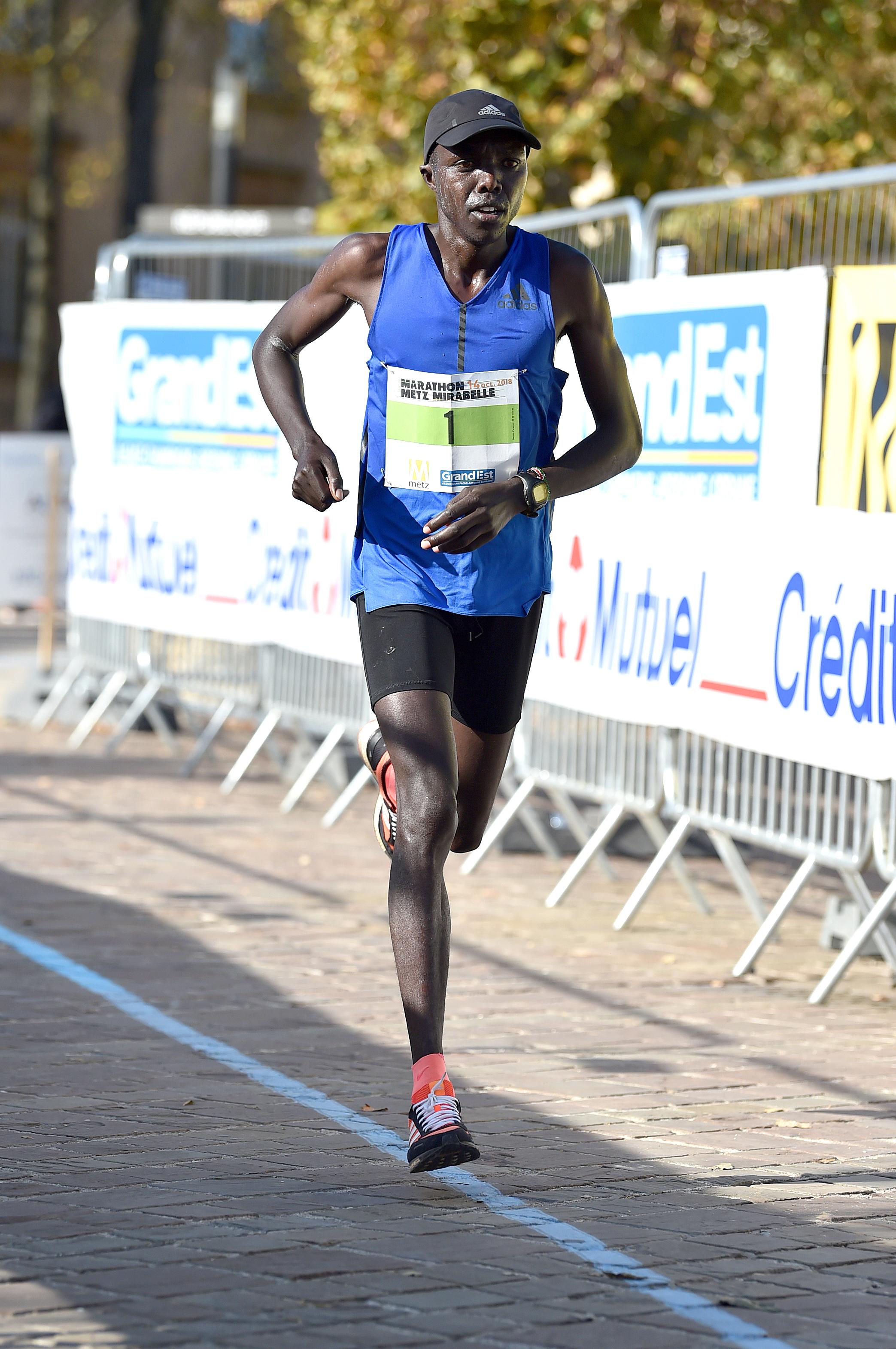 Le Kényan Nicholas Cheruiyot Chumba remporte l'édition 2018 du Marathon Metz Mirabelle