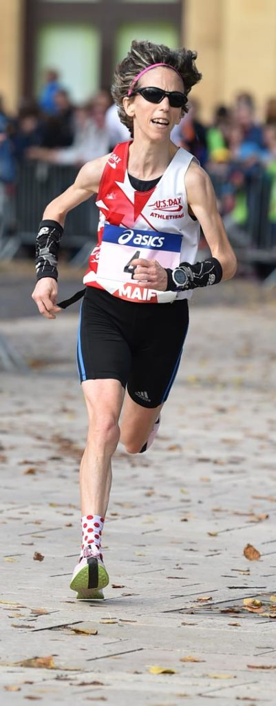Christelle Larrere Championne de France du Marathon en 2h46min47sec